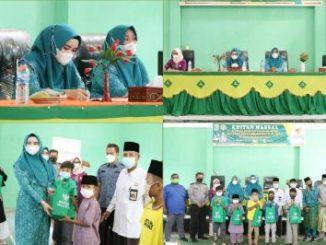 Baznas Bekerjasama Dengan PPNI Kabupaten Pelalawan Gelar Khitanan Massal Di Kecamatan Bunut