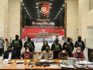 Polri Tangkap 53 Terduga Teroris di 11 Provinsi