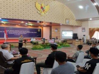 Ket : Kapolda Riau Irjen Agung Setya Imam Effendi gelar pertemuan dengan para tokoh agama, tokoh masyarakat hingga nelayan kabupaten Rokan Hilir (Foto/Istimewa