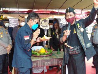 Ket : Anton Carliyan : 'Ganggu keutuhan NKRI bakal berhadapan dengan Laskar Agung Macan Ali (foto/KBO Babel)